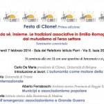 Prima Festa di Clionet. Le tradizioni associative