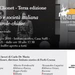 Terza Festa di Clionet. Fascismo e società italiana