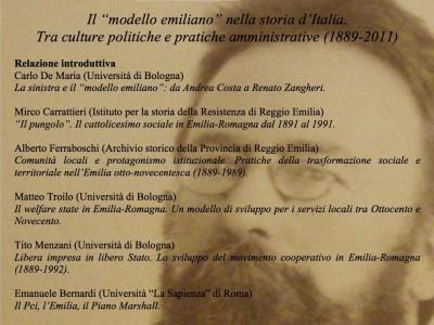 Il modello emiliano nella storia d'Italia