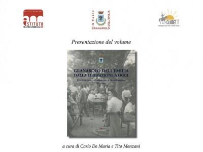 Storia dei Comuni: il libro su Granarolo dell'Emilia