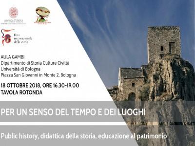 Public history, didattica della storia, educazione al patrimonio