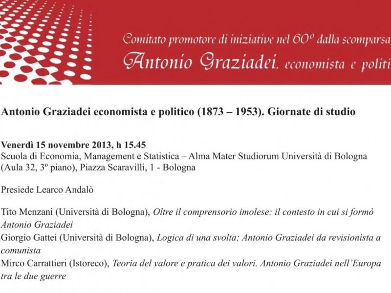 Antonio Graziadei economista e politico