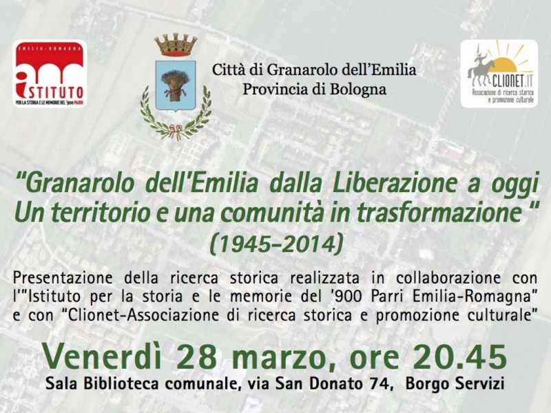 Storia dei Comuni: Granarolo dell'Emilia, ricerca in corso