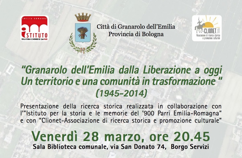 Comune Di Granarolo Dell Emilia storia dei comuni: granarolo dell'emilia, ricerca in corso